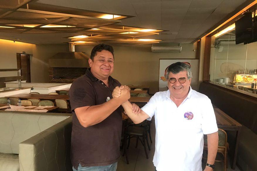 wallber virgolino roberto paulino mdb adesao - Wallber Virgolino anuncia apoio ao candidato ao Senado, Roberto Paulino