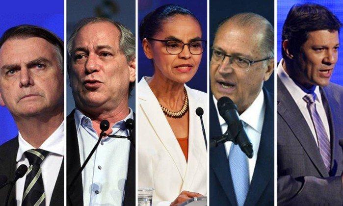 PESQUISA IBOPE: Haddad cresce 11 pontos e fica em 2º lugar; Bolsonaro lidera com 28%