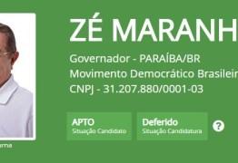 TRE defere registros de candidaturas de João Azevedo e Zé Maranhão