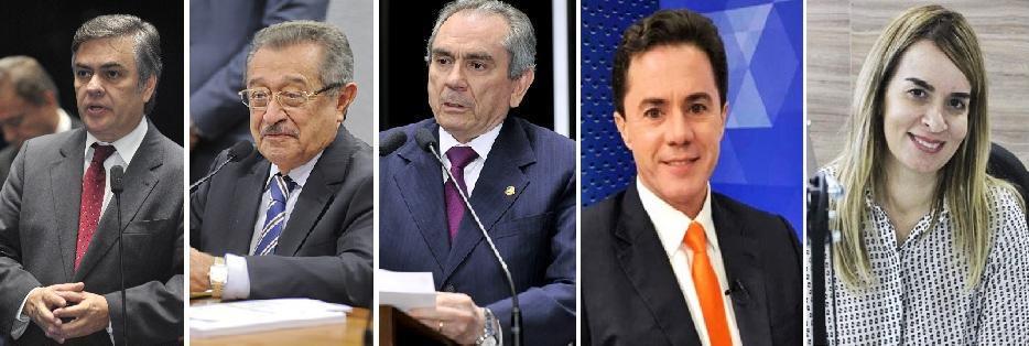 1448539843741 senadores - ENTRE BOLSONARO E HADDAD: saiba como votam os senadores em fim de mandato e os eleitos, na PB