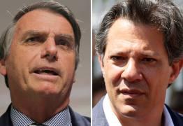 PESQUISA IBOPE: Bolsonaro perdeu seis pontos e tem 54% dos votos válidos e Haddad, 46% –