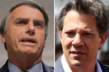 1537981295354 - PESQUISA IBOPE: Bolsonaro perdeu seis pontos e tem 54% dos votos válidos e Haddad, 46% -