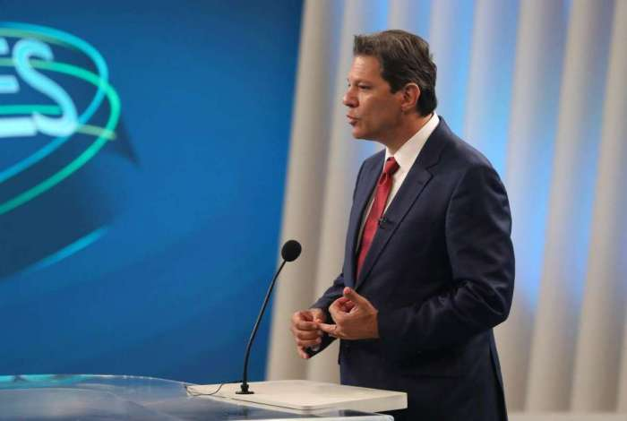 1 311820 8220484 - Haddad pede ao TSE para ser entrevistado pela Globo no horário reservado a debate