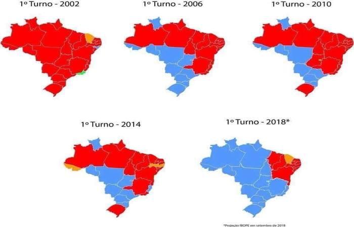 20181008005639236925u - Nordeste é alvo de ataques nas redes sociais após apuração de votos