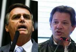 PESQUISA XP/IPESPE: Bolsonaro tem 58% dos votos válidos e mantém vantagem de 16 pontos sobre Haddad
