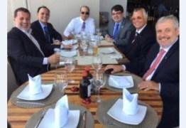 Candidato a governador do DF, Ibaneis Rocha oferece almoço para colegas advogados em Brasília