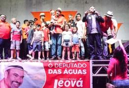 Militância e apoiadores do deputado Jeová Campos  realizam ato político em Mangabeira