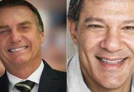 Instituto Paraná aponta Bolsonaro liderando contra Haddad com 60,9%