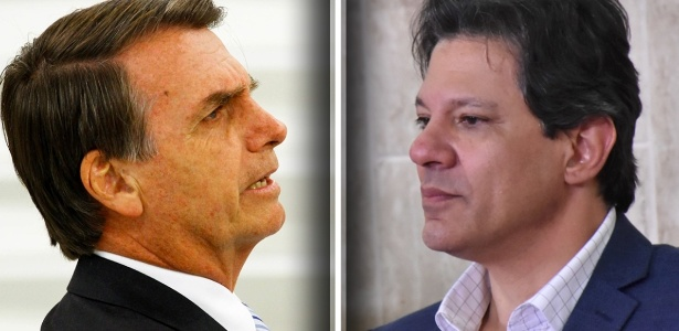 Bolsonaro haddad.. - PESQUISA IBOPE: Cai a diferença entre Jair Bolsonaro e Fernando Haddad na disputa presidencial