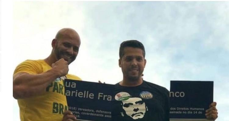 Capturar 13 - Candidato de Bolsonaro que destruiu placa de Marielle é eleito deputado estadual no Rio