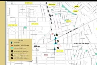 Capturar 14 - Via que faz ligação entre a Avenida Beira Rio e BR-230 será liberada nesta quinta-feira