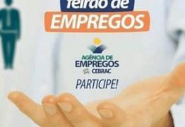 II Feirão de Empregos da Paraíba acontece hoje em João Pessoa