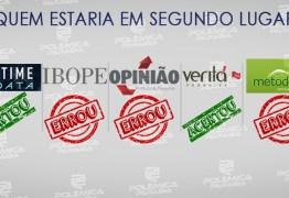 PESQUISA X URNAS: apenas dois institutos indicaram que Lucélio estaria em segundo lugar na votação para governador da Paraíba