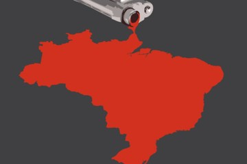 Brasil lidera morte por arma de fogo no mundo, diz estudo