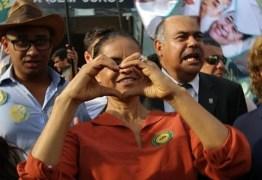 Marina: 'País está entre a cruz da corrupção e a espada da violência'