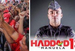 Policial militar declara apoio a Haddad em mensagem histórica e emocionante