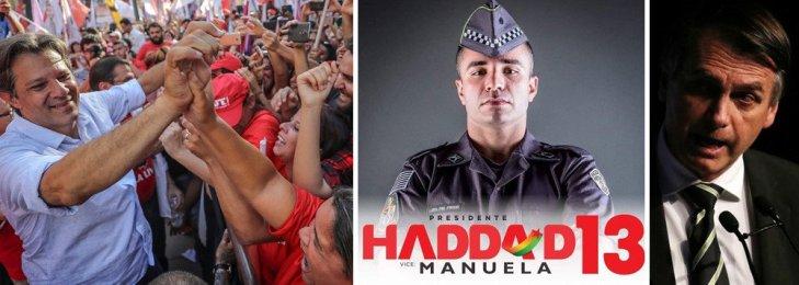 Policial militar Haddad 300x107 - Policial militar declara apoio a Haddad em mensagem histórica e emocionante