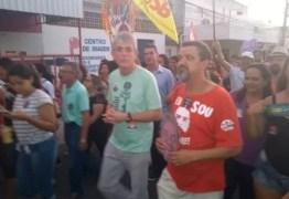 Ricardo Coutinho participa de ato pró-Haddad em João Pessoa