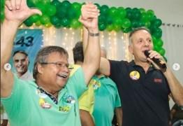 Em João Pessoa, vereadores Marco Antônio e Benilton Lucena abraçam reeleição de Aguinaldo Ribeiro