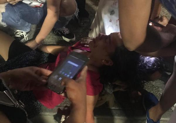 WhatsApp Image 2018 10 28 at 20.11.002 2 - VEJA VÍDEO: após confusão jovem fica feriada ao ser agredida pela PM