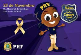 PRF inicia a campanha Policiais contra o Câncer Infantil na Paraíba