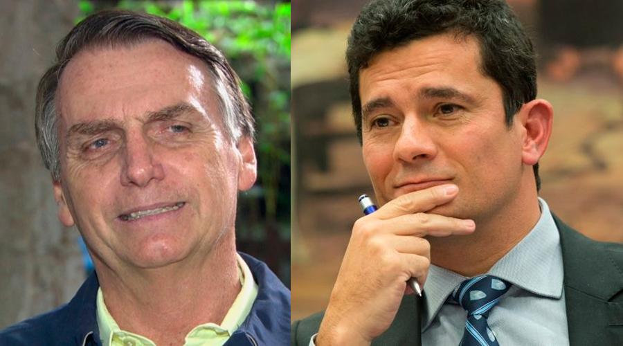 bolsomoro - Moro e Bolsonaro se reúnem nesta quinta para discutir indicação
