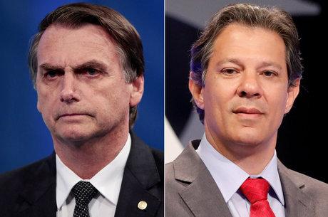 bolsonaro haddad 01102018193302098 - Com 47 milhões de votos, PT vê caminho para Haddad liderar uma frente de oposição a Bolsonaro
