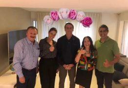 Bolsonaro recebe visita de Regina Duarte