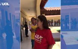 VEJA VÍDEO: Imagens registram PM pedindo para eleitora tirar camisa escrita Lula; MPF apura