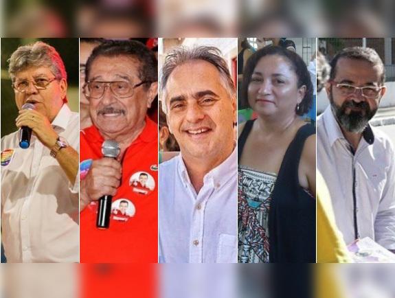 candidatos governo - PESQUISA MÉTODO/ CORREIO: João Azevedo vira o jogo e chega a 31%, Maranhão aparece em segundo com 22%