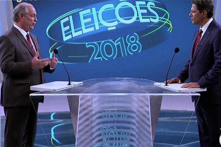 ciro e haddad - Ciro foi bem, mas Haddad foi quem mais ganhou no debate de ontem - Por Flávio Lúcio Vieira