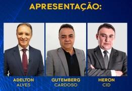 COM GUTEMBERG CARDOSO, HERON CID E ADELTON ALVES: Sistema Arapuan fará a maior cobertura do segundo turno das eleições na PB