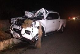 Quatro pessoas morrem em acidente envolvendo caminhonete e carroça