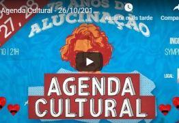 AGENDA CULTURAL : Confira as dicas para este fim de semana em João Pessoa