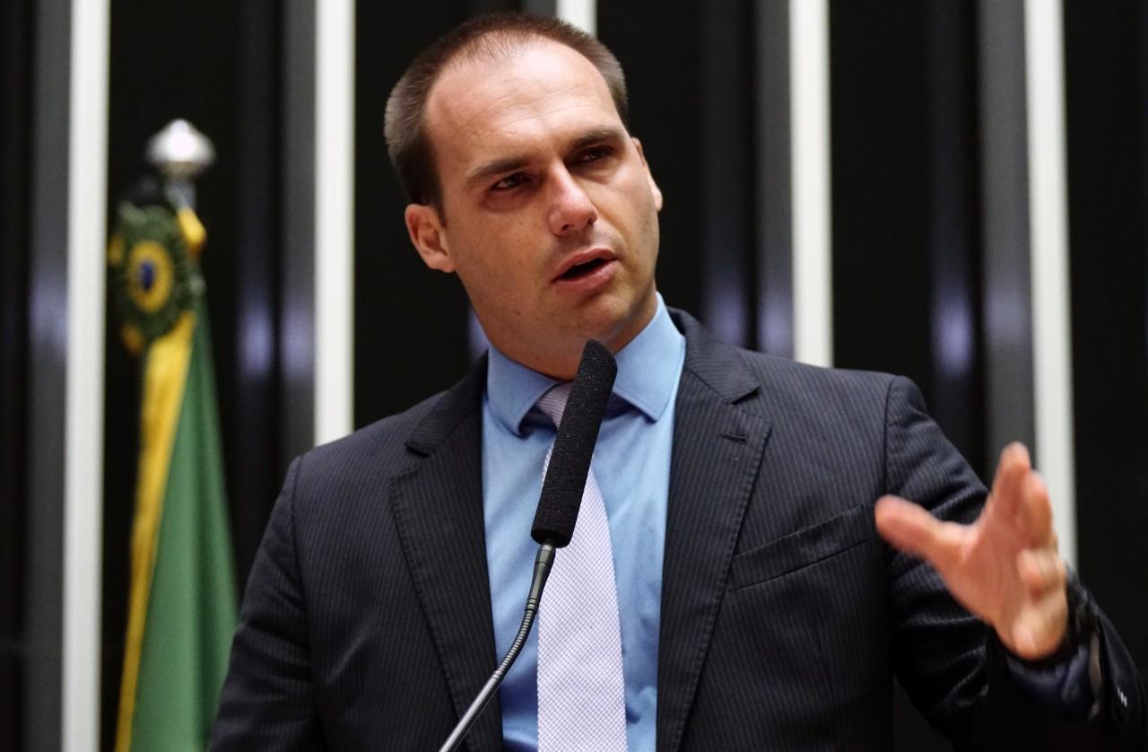 eduardo bolsonaro - ELEIÇÕES 2018: veja quem são os campeões de votos para deputado federal