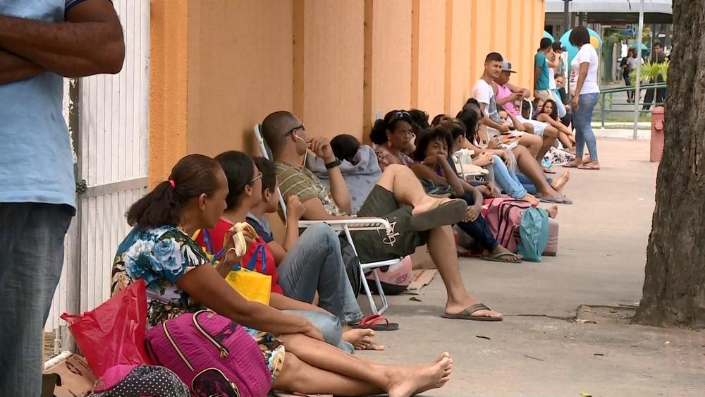 fila sine linhares 10 09 2018.mov snapshot 00.43 2018.09.10 09.07.54  - Mulheres negras estão 50% mais vulneráveis ao desemprego, diz Ipea