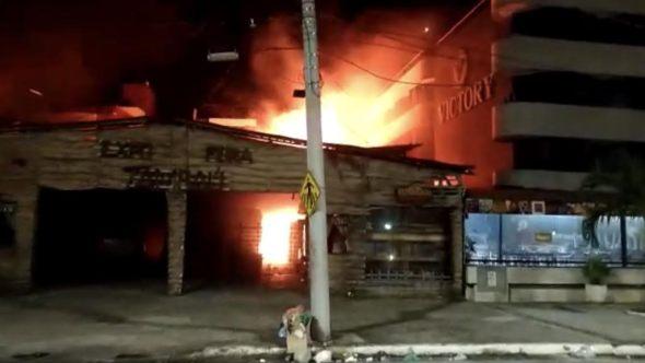 fogo em tambaú 1 - Ministério Público pede internação de suspeitos de incendiar Feira de Artesanato
