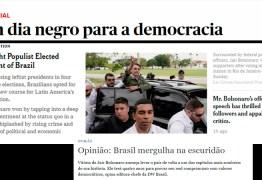 Mídia internacional destaca chegada da extrema-direita ao poder e dias sombrios para a democracia no Brasil