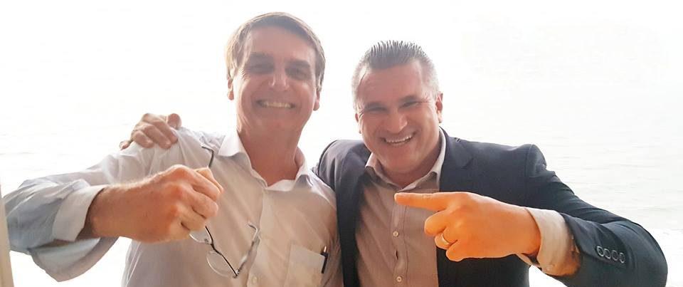 julian lemos bolsonaro e1539563497456 - Julian Lemos é nomeado coordenador da equipe de transição do governo na Região Nordeste