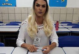 Na PB, foto de mesária Drag Queen repercute: 'Lute como uma garota'