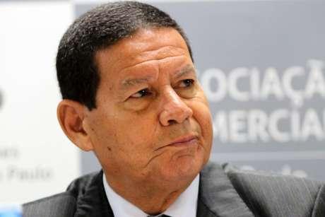 mourão - DESMENTIU: Mourão nega declaração sobre caso envolvendo ministro Sérgio Moro