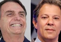 A um dia da decisão, Bolsonaro fica no Rio e Haddad, em São Paulo