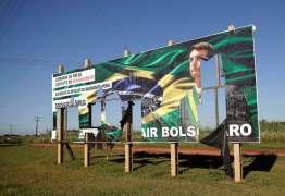 Campanha de Haddad pede para que TSE declare Bolsonaro inelegível por uso de outdoors