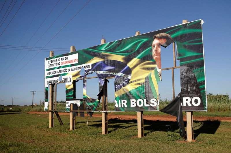 outdoor bolsonaro - Campanha de Haddad pede para que TSE declare Bolsonaro inelegível por uso de outdoors
