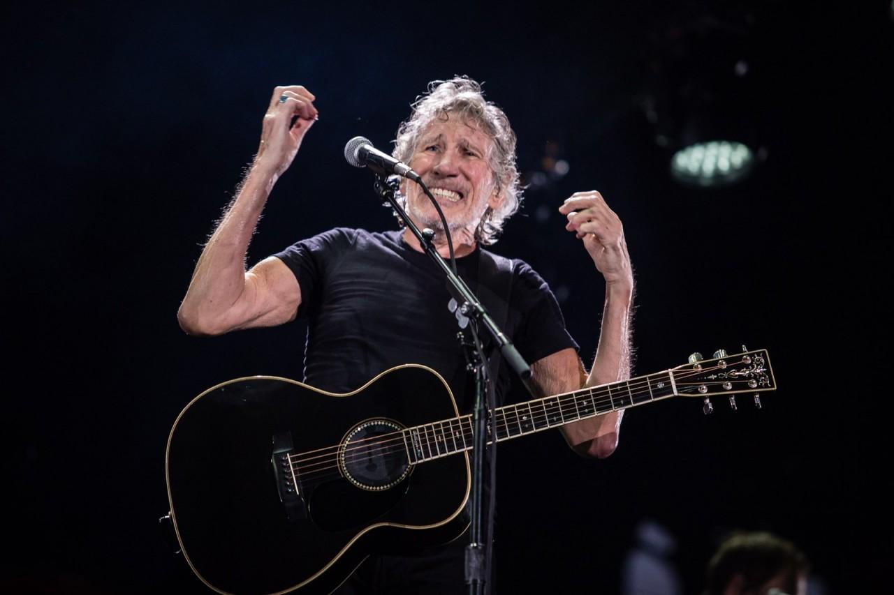 roger waters sp fabio tito g1 g1 q98a7780 - VEJA VÍDEO: Roger Waters exibe #EleNão no telão e é vaiado e aplaudido no seu show em São Paulo