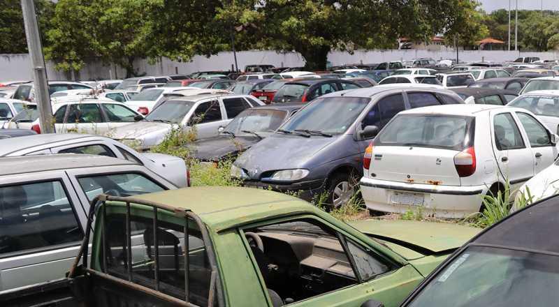 t 2 - Detran-PB abre visitação a veículos que serão leiloados este mês