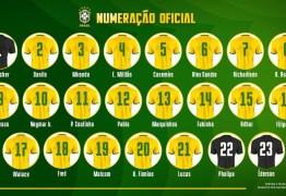 Gabriel Jesus volta à Seleção com a camisa 9; veja numeração dos jogos