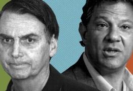 BOLSONARO X HADDAD: Brasil elege neste domingo 38º presidente da República
