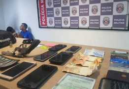 Polícia prende dupla suspeita de praticar assaltos em João Pessoa