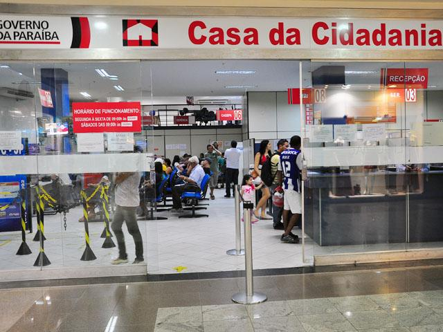 1372344463607 casa da cidadania - Casa da Cidadania de Campina Grande suspende serviços a partir desta sexta-feira